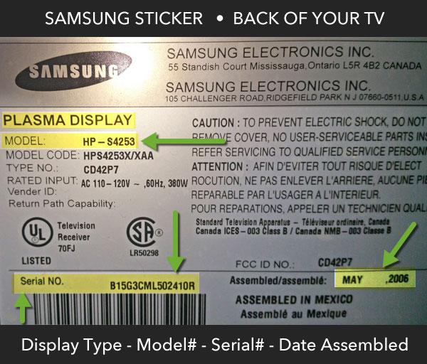 TV Repair & Tech Blog Southern California: Samsung TV Repair San