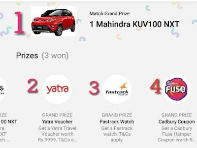 ipl free live mach prizes