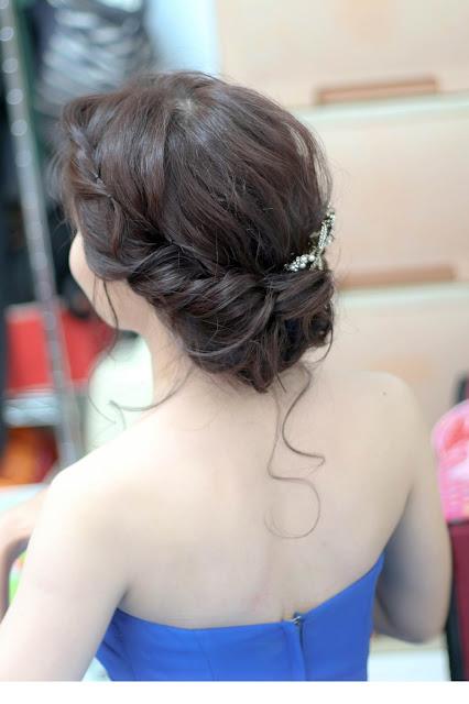 新娘歐美髮型