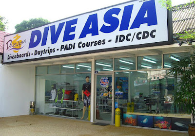 Camille starts a new cooperation with PADI CDC Center 'Dive Asia' on Phuket