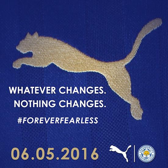 f992e228d36 Leicester City 16-17 Home Kit Teaser Revealed - Footy Headlines