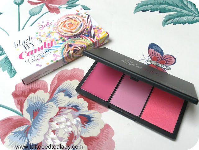 A picture of Sleek Sweet Cheeks Blush by 3 Blusher Palette