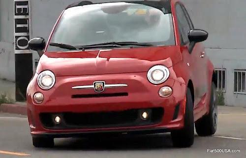 2015 Fiat 500 Abarth Automatic Cabrio