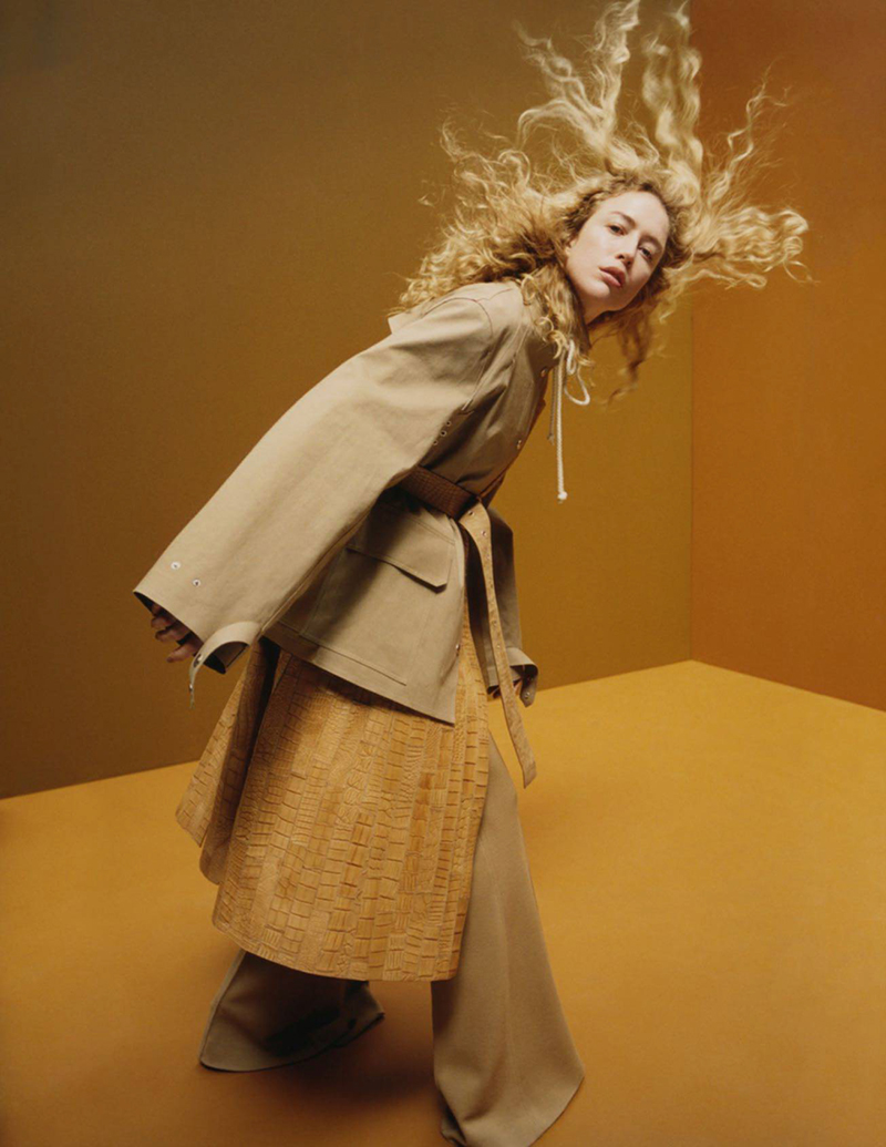 Raquel Zimmermann by Harley Weir for Vogue Paris August 2016