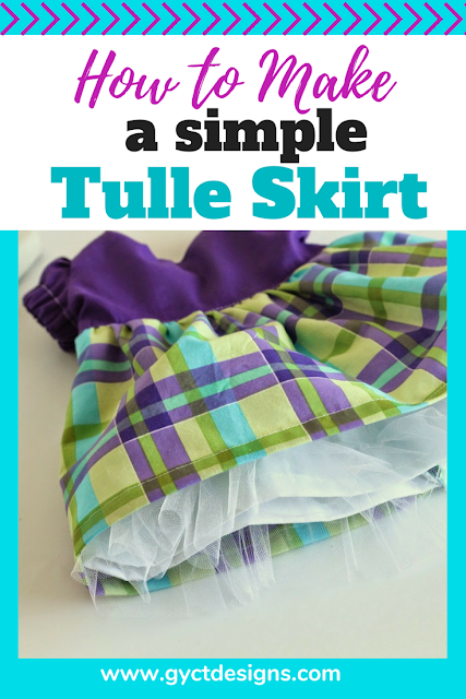 Follow this step by step tutorial on how to make a tulle skirt for underneath a dress or skirt.  A tulle skirt will add fullness and structure and is great for a twirly skirt.