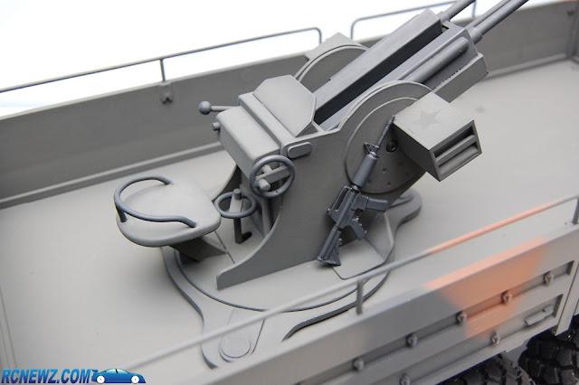 RC4WD Beast 2 6x6 custom gun