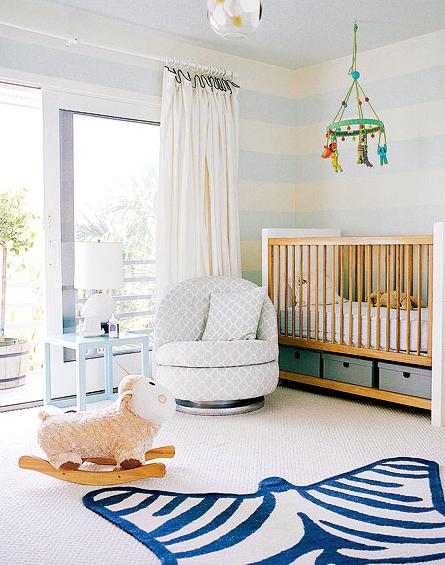 Modern Baby Boy Room Ideas: Custom Nursery Art By Kimberly: My Nursery: Top Baby Boy