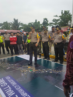 Foto: Pemaparan Ide Kapolres Banjar Dalam Menangani Acara Haul  Dengan Ribuan Pengunjung