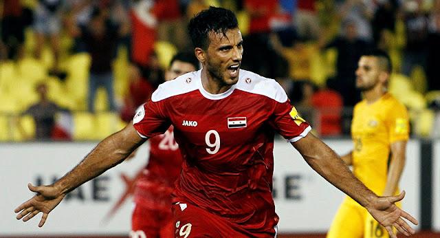 مشاهد مباراة سوريا وقيرغيزستان بث مباشر اقصائيات كاس اسيا 23 سنة