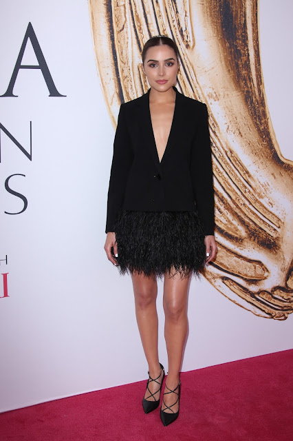 Actress, Model, @ Olivia Culpo - CFDA Fashion Awards in NYC