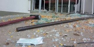 Grupo explode dois bancos e agência dos Correios em Alagoa Grande, PB