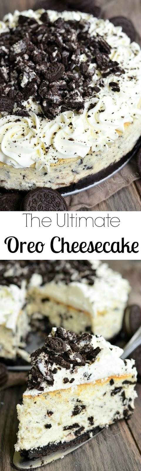 THE ULTIMATE OREO CHEESECAKE