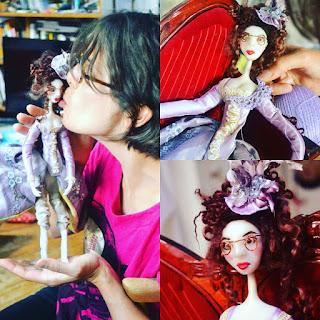 petit moi art dolls cernit dolls stage cours poupée