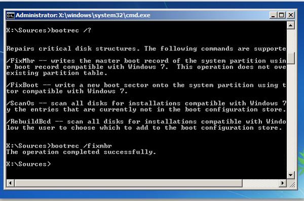 windows 10 não inicia