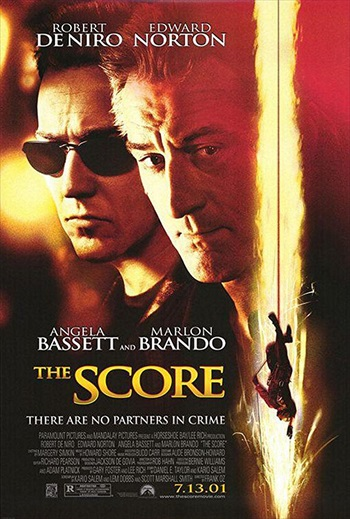 The Score 2001 BRRip 480p Dual Audio Hindi 300MB