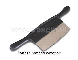 Double handed scraper image