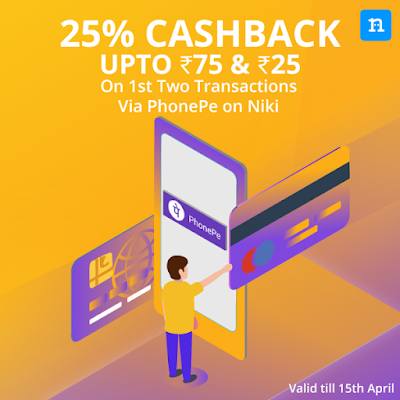 Phonepe Niki Offer