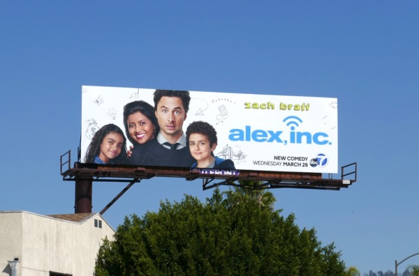 Alex Inc series billboard
