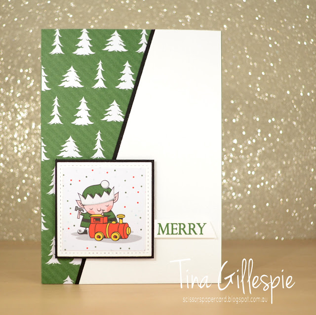 scissorspapercard, Stampin' Up!, Art With Heart, Heart Of Christmas, Santa's Workshop SDSP, Merry Christmas To All, Subtle DTIEF, Stitched Shapes Framelits