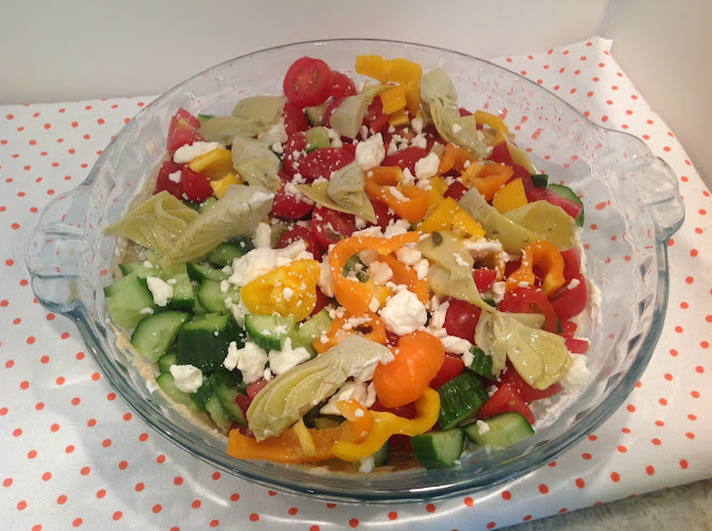 Greek salad on Gluten Free A-Z Blog