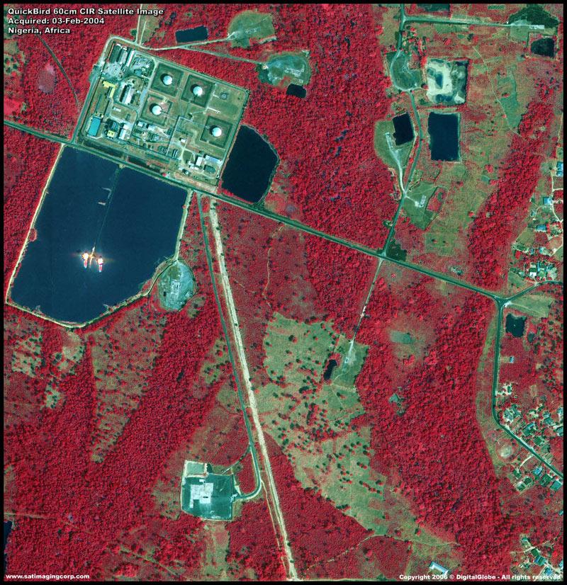 Citra satelit inframerah