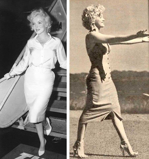 Fotos looks da Marilyn Monroe anos 50