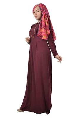Koleksi Desain Busana Muslim Lebaran Untuk Remaja Muslimah