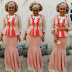 Celebrity Rock Creative Aso Ebi Style