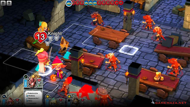 Super Dungeon Tactics Gameplay Screenshot 2