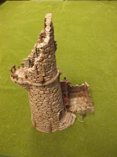 The Miniatures Man: 3D-printed Ruined Lighthouse by Printable Scenery