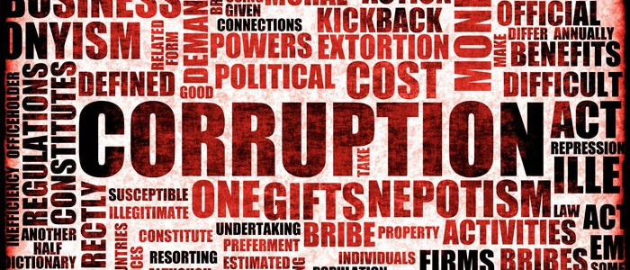 what is graft and corruption definition