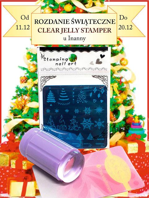 ROZDANIE ŚWIĄTECZNE CLEAR JELLY STAMPER / CHRISTMAS GIVEAWAY