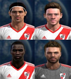 Faces: Pisculichi, Nicolas Domingo, Balanta, Chiarini, Pes 2013
