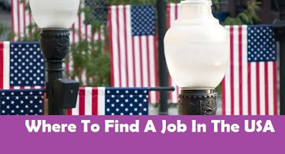 Where To Find A Job In The USA
