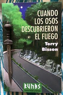Portada del libro Cuando los osos descubrieron el fuego, de Terry Bisson
