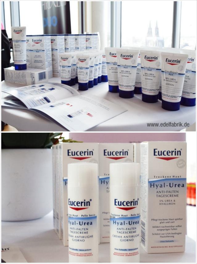 Neue Prodkte von Eucerin auf dem beautypress Bloggerevent