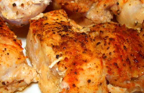 golden brown #oven_baked_chicken_breasts, click for recipe