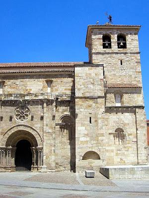 Iglesia de san Juan Bautista; Iglesia de la Puerta Nueva; Zamora; Castilla y León; Vía de la Plata