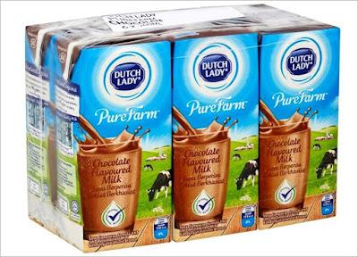 Bekalan Makanan Sihat Untuk Kanak-kanak Sekolah, susu sihat, makanan sihat, susu, susu berkhasiat, dutch lady, susu dutch lady