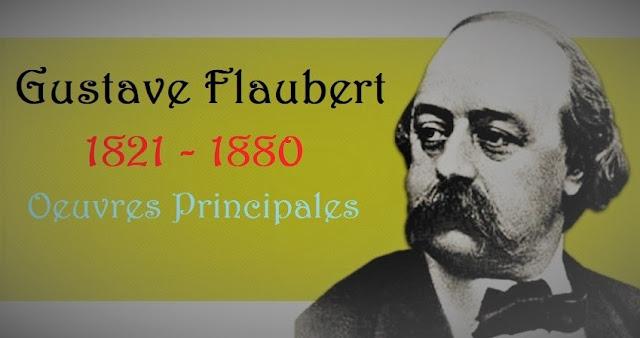 L'écrivain français Gustave Flaubert