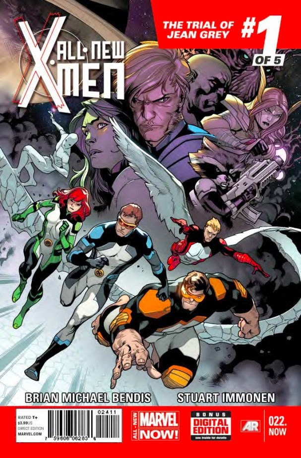 Marvel Comics - All-New X-Men Issue #22 Cover by Stuart Immonen