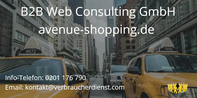 Bild B2B Web Consulting - avenue shopping