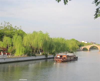 Looking east from Wumen Bridge, Suzhou, China