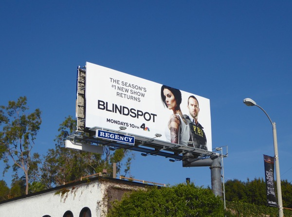 Blindspot midseason 1 billboard