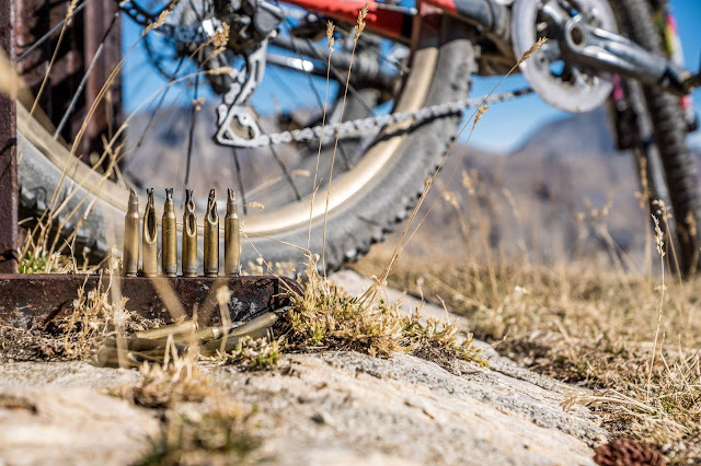 Schüsse beim Biken