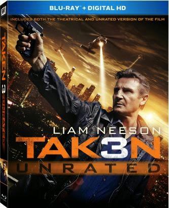 Blu-ray Review: Taken 3