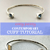 Easy Peasy Contemporary Cuffs Tutorial