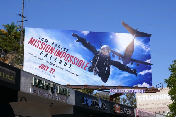 Mission Impossible Fallout cut-out billboard