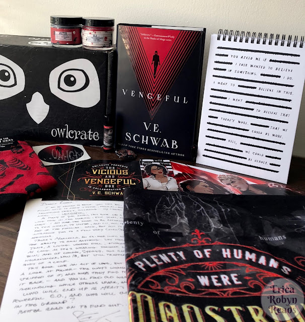 My First Owlcrate Unboxing: The Vicious and Vengeful Box