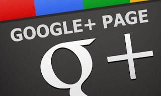 Cara Membuat Halaman Page di Google Plus